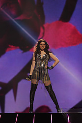 11.05.2011, LTU Arena, Duesseldorf, GER, Eurovision Song Contest 2011, im Bild  First dress rehearsal for the second Semi-Final of the Eurovision Song Contest. Maja Keuc representing Slovenia                                                                                                 Foto ©  nph / PIXSELL       ****** out of GER / SWE / CRO  / BEL ******