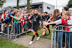 Sofyan Amrabat of Feyenoord during the friendly match between SDC Putten and Feyenoord Rotterdam at Sportpark Putter Eng on July 15, 2017 in Putten, The Netherlands