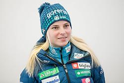 Spela Rogelj during press conference of Slovenian Nordic Ski team before new season 2017/18, on November 14, 2017 in Gorenje, Ljubljana - Crnuce, Slovenia. Photo by Vid Ponikvar / Sportida