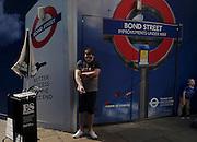 London, strret scene in Oxford street