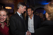 JACOB REES-MOGG; BRENT HOBERMAN, The Brown's Hotel Summer Party hosted by Sir Rocco Forte and Olga Polizzi, Brown's Hotel. Albermarle St. London. 14 May 2015