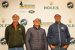 Cross Country Course Designer: Derek di Grazia with Price Tim and Jung Michael<br /> Rolex Kentucky Three Day Event CCI4* <br /> Lexington 2015<br /> © Hippo Foto - Libby Law<br /> 26/04/15