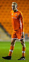 Blackpool's Ewan Bange<br /> <br /> Photographer Alex Dodd/CameraSport<br /> <br /> The FA Youth Cup Third Round - Blackpool U18 v Derby County U18 - Tuesday 4th December 2018 - Bloomfield Road - Blackpool<br />  <br /> World Copyright © 2018 CameraSport. All rights reserved. 43 Linden Ave. Countesthorpe. Leicester. England. LE8 5PG - Tel: +44 (0) 116 277 4147 - admin@camerasport.com - www.camerasport.com