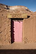 Door in Rio Grande, Antogagasta, Atacama Desert, Chile, South America