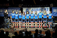 Equipe Auber 93 Feminine  - 23.01.2015 - Presentation Auber 93<br />Photo : Andre Ferreira / Icon Sport