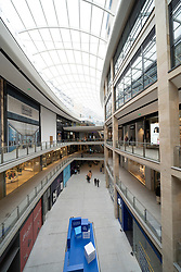 Edinburgh, Scotland, UK. 24 June 2021. First images of the new St James Quarter which opened this morning in Edinburgh. The large retail and residential complex replaced the St James Centre which occupied the site for many years. Iain Masterton/Alamy Live News