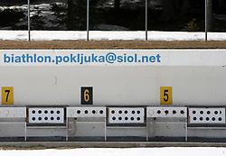 Biathlon, on April 24, 2008, in Pokljuka, Rudno polje, Slovenia.  (Photo by Vid Ponikvar / Sportal Images)/ Sportida)