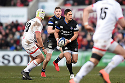 Jackson Willison of Bath Rugby in possession - Mandatory byline: Patrick Khachfe/JMP - 07966 386802 - 18/01/2020 - RUGBY UNION - Kingspan Stadium - Belfast, Northern Ireland - Ulster Rugby v Bath Rugby - Heineken Champions Cup