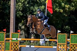 Vanderhasselt Yves, BEL, Jeunesse<br /> Belgisch Kampioenschap Jumping  <br /> Lanaken 2020<br /> © Hippo Foto - Dirk Caremans<br /> 02/09/2020