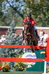 Guerdat Steve, (SUI), Concetto Son<br /> BMO Nations Cup<br /> Spruce Meadows Masters - Calgary 2015<br /> © Hippo Foto - Dirk Caremans<br /> 12/09/15