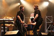 Bjarne Brødbo og DDE var i slaget på Årsøya. Foto: Bente Haarstad Sommerfestivalen i Selbu er en av Norges største musikkfestivaler. Sommerfestivalen is one of the biggest music festivals in Norway.