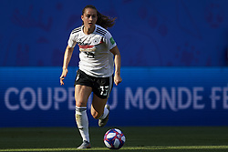 June 29, 2019 - Rennes, France - Sara Daebritz (FC Bayern Munchen) of Germany in action during the 2019 FIFA Women's World Cup France Quarter Final match between Germany and Sweden at Roazhon Park on June 29, 2019 in Rennes, France. (Credit Image: © Jose Breton/NurPhoto via ZUMA Press)