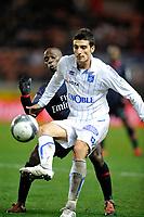 FOOTBALL - FRENCH CHAMPIONSHIP 2009/2010  - L1 - PARIS SAINT GERMAIN v AJ AUXERRE - 28/11/2009 - PHOTO GUY JEFFROY / DPPI - DANIEL NICULAE (AUX)