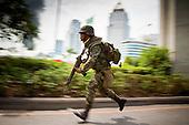 Thai Army Captures Lumpini Park