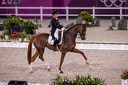 Werth Isabell, GER, Bella Rose 2, 140<br /> Olympic Games Tokyo 2021<br /> © Hippo Foto - Dirk Caremans<br /> 28/07/2021