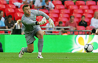 Celtic FC vs Al Ahly Wembley Cup 24/07/09<br /> Photo Nicky Hayes/Fotosports International<br /> Celtic keeper Artur Boruc in action.