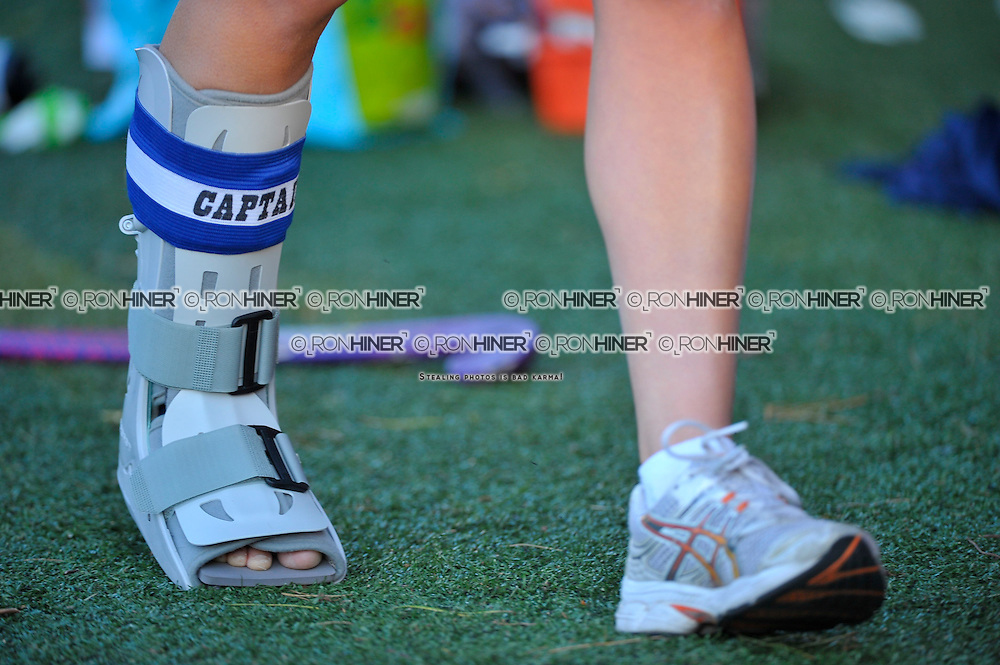 Staples High School Field Hockey..Staples defeats Stamford High School 3-2..Emily Ashken (SR)(C)