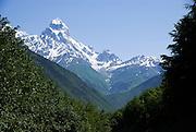 Georgia Svaneti Mountain landscape