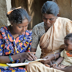 Adult literacy in India