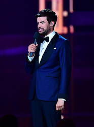 Jack Whitehall on stage at the Brit Awards 2019 at the O2 Arena, London.