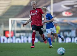 Victor Nelsson (FC København) under kampen i 3F Superligaen mellem Lyngby Boldklub og FC København den 1. juni 2020 på Lyngby Stadion (Foto: Claus Birch).