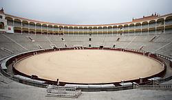 THEMENBILD - Innenansicht der Stierkampfarena Las Ventas. Die Stadt Madrid ist eine der größten Metropolen in Europa. Sie liegt im Zentrum der iberischen Halbinsel und ist Hauptstadt von Spanien. Aufgenommen am 25.03.2016 in Madrid ist Spanien // Madrid is on of the biggest metropolis in Europe. It is located in the center of the Iberian Peninsula and is the capital of Spain. Spain on 2016/03/25. EXPA Pictures © 2016, PhotoCredit: EXPA/ Jakob Gruber