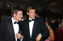 Left to right, ZAC GOLDSMITH and his brother JETHRO GOLDSMITH at the British Red Cross London Ball held at The Room by The River, 99 Upper Ground, London SE1 on 16th November 2006.<br /><br />NON EXCLUSIVE - WORLD RIGHTS