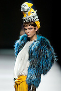 Maria Barros in Mercedes-Benz Fashion Week Madrid 2013