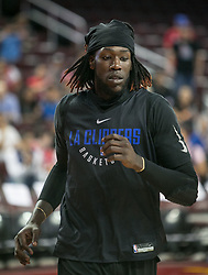 October 10, 2017 - Los Angeles, California, U.S - Montrezl Harrell #5 of the Los Angeles Clippers during their Free Open Practice for fans held on Tuesday October 10, 2017 at the Galen Center in USC in Los Angeles, California. (Credit Image: © Prensa Internacional via ZUMA Wire)
