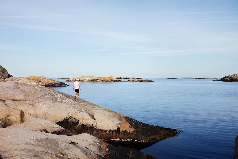 Westcoast of Sweden, running, archipelago, beach, sweden, www.dankullberg,com, photo dan kullberg,