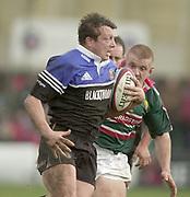 Bath, Somerset, UK., 1st February,  Zurich Premiership Rugby,  Recreation Ground The Rec.,  [Mandatory Credit: Peter Spurrier/Intersport Images], ZURICH PREMIERSHIP RUGBY Bath v Leicester Tigers<br /> Adam Vander