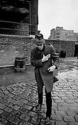 Tom Waits - St Katherines Dock - London photo sessions 1981