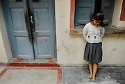 """""""Lost Daughters: Sex Selection in India"""" <br /> <br /> The social perception that females are """"worth"""" less than males, and the extremes to which families go to have boys and get rid of girls. Through her images Mary shows us the difficulties that women face in India, even before birth, such as fetal sex selection, government-financed abortion of female fetuses and abandonment after birth. But her work doesn't stop there; she follows women through their life cycle and shows the consequences of this sexist ideology.<br /> <br /> Women are an endangered species in India. 'Raising a daughter,' said an old Punjabi saying, 'is like watering your neighbor's garden.' In the last 20 years India has lost about 10 million girls to sex selection. Due to the devaluation of women and expensive dowries required by the groom's family, women are holding out for boy children. Sons are preferred in India because boys will be more prosperous and take care of their aging parents. They carry on the family name and are the ones to inherit family wealth. Girls are seen as a drain on family resources. Many women rely on illegal ultrasounds to determine sex, leading to the aborting of girl fetuses. The long-term effects are coming to fruition. Despite its status as one of the world's largest democracies, India is a country where women suffer a low status. <br /> <br /> Photo shows: - PARI RADHA, 14, has lived at the Kanpur-Hindu Orphanage in Kanpur, India, since she was two or three months old. The orphanage is filled with mostly girls left there as babies by their parents.<br /> ©Mary F. Calvert/Exclusivepix media"""