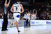 Esultanza Germani Basket Brescia<br /> A|X Armani Exchange Olimpia Milano - Germani Basket Brescia<br /> Basket Serie A LBA 2019/2020<br /> MIlano 29 September 2019<br /> Foto Mattia Ozbot / Ciamillo-Castoria