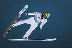 05.01.2021, Paul Außerleitner Schanze, Bischofshofen, AUT, FIS Weltcup Skisprung, Vierschanzentournee, Bischofshofen, Finale, Qualifikation, im Bild Evgeniy Klimov (RUS) // Evgeniy Klimov of Russian Federation during the qualification for the final of the Four Hills Tournament of FIS Ski Jumping World Cup at the Paul Außerleitner Schanze in Bischofshofen, Austria on 2021/01/05. EXPA Pictures © 2020, PhotoCredit: EXPA/ JFK