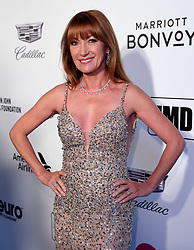 Jane Seymour attending the Elton John AIDS Foundation Viewing Party held at West Hollywood Park, Los Angeles, California, USA.
