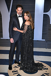 Sofia Vergara and Joe Manganiello attending the 2018 Vanity Fair Oscar Party hosted by Radhika Jones at Wallis Annenberg Center for the Performing Arts on March 4, 2018 in Beverly Hills, Los angeles, CA, USA. Photo by DN Photography/ABACAPRESS.COM