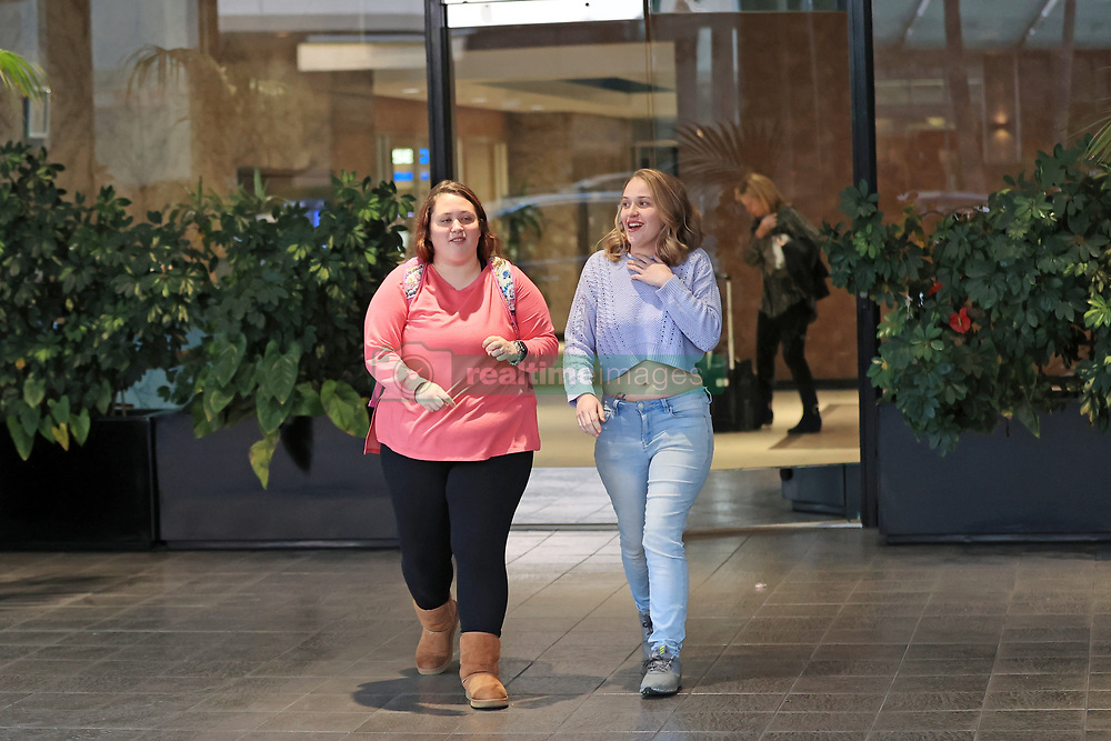"""EXCLUSIVE: Mama June's children are pictured just before they underwent a dramatic plastic surgery makeover. Anna Cardwell and Jessica Shannon of Gordon, Georgia, were pictured in LA before they went under the knife and had extensive dental work. Anna, 25, who separated from her husband Michael three-years-ago, has had a breast lift and implants with 400cc Allergen Breast Implants and has seen her boob size go from a B to a 36D cup. The $17,000 surgery was performed by Dr Michael K Obeng of Beverly Hills. She also had 16 veneers - eight on the top and eight on the bottom - by Dr Aamir Wahab of Beverly Hills at a cost of $30,000. A source said: """"Anna has 2 daughters from her previous relationships, Kaitlyn 7 years old and Kylee 4 years old. Anna has a new man in her life, Eldridge Toney and they reside in Gordon, Georgia with Anna's 2 kids. Anna wanted to re-invent herself to help boost her self esteem, so she flew to California for a Beverly Hills makeover."""" Jessica, 23, who weighed 239lbs, wanted a curvy body and is said to want to become a plus size model. She underwent the knife with dr Samuel Kashani of Beverly Hills who inserted the Orbera Balloon into her stomach to help with Jessica's weight loss journey. The cost of that surgery was $17,000. Additionally Dr Michael K Obeng also performed 360 liposuction on her abs, flanks, back and bra area as well as a Tummy Tuck. Jessica lost 40lbs just from the $30,000 surgery and will continue to lose over the next few months Jessica also now has a Hollywood smile after having eight veneers fitted to her top teeth and laser whitening on the bottom teeth at a cost of $17,000 fitted by Dr Aamir Wahab of Beverly Hills. A source said:"""" Jessica is single and ready to meet a man and would love to be a plus size model. Jessica flew to California with her sister Anna and underwent an extensive makeover. Jessica weighed 239lbs and she wanted a curvy body with a flat stomach."""". 03 Mar 2020 Pictured: Anna Cardwell and"""