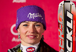 SKI ALPIN: Weltcup, Parallel-Slalom, Damen, Muenchen, 02.01.2011<br /> Tina MAZE (SLO)<br /> Photo by Pixathlon / Sportida Photo Agency