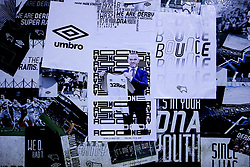 A poster of Wayne Rooney of Derby County outside Pride Park Stadium - Mandatory by-line: Robbie Stephenson/JMP - 02/01/2020 - FOOTBALL - Pride Park Stadium - Derby, England - Derby County v Barnsley - Sky Bet Championship