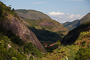 Conceicao do Castelo_ES, Brasil...Vista panoramica ao lado de trecho da Rota Imperial...The panoramic view of next to the Imperial route...Foto: LEO DRUMOND / NITRO