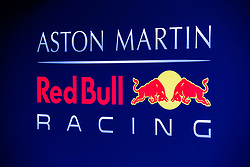 February 18, 2019 - Montmelo, BARCELONA, Spain - Aston Martin Red Bull Racing - Honda RB15 logo during the Formula 1 2019 Pre-Season Tests at Circuit de Barcelona - Catalunya in Montmelo, Spain on February 18. (Credit Image: © AFP7 via ZUMA Wire)