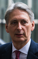 Downing Street, London, October 20th 2015.  Foreign Secretary Philip Hammond leaves 10 Downing Street after attending the weekly cabinet meeting