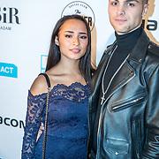 NLD/Amsterdam/20171106 - MTV Pre party 2017, Jade Lauren en Rick Douwsma