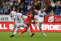 Fotball , 15. juni 2019 , Eliteserien,<br />Haugesund - Brann Bergen<br />Karamoko Bamba fra Brann Bergen i aksjon mot Haugesund.<br />Foto: Andrew Halseid Budd , Digitalsport