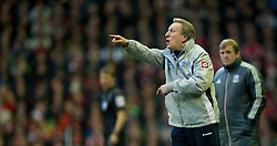 10.12.2011, Anfield Stadion, Liverpool, ENG, PL, FC Liverpool vs Queens Park Rangers, 15. Spieltag, im Bild Queens Park Rangers' manager Neil Warnock during the Premiership match against Liverpool at Anfield the football match of English premier league, 15th round, between FC Liverpool and Queens Park Rangers at Anfield Stadium, Liverpool, United Kingdom on 2011/12/10. EXPA Pictures © 2011, PhotoCredit: EXPA/ Propagandaphoto/ David Rawcliff..***** ATTENTION - OUT OF ENG, GBR, UK *****