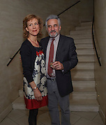 JULIET STEVENSON; HENRY GOODMAN, Duet for One first night party. Axiis, One Aldwych, London. 12 May 2009