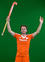 DEN BOSCH -  TOM HIEBENDAAL . . Nederlands Hockeyteam  voor nieuwe platform Hockey.nl.    FOTO KOEN SUYK