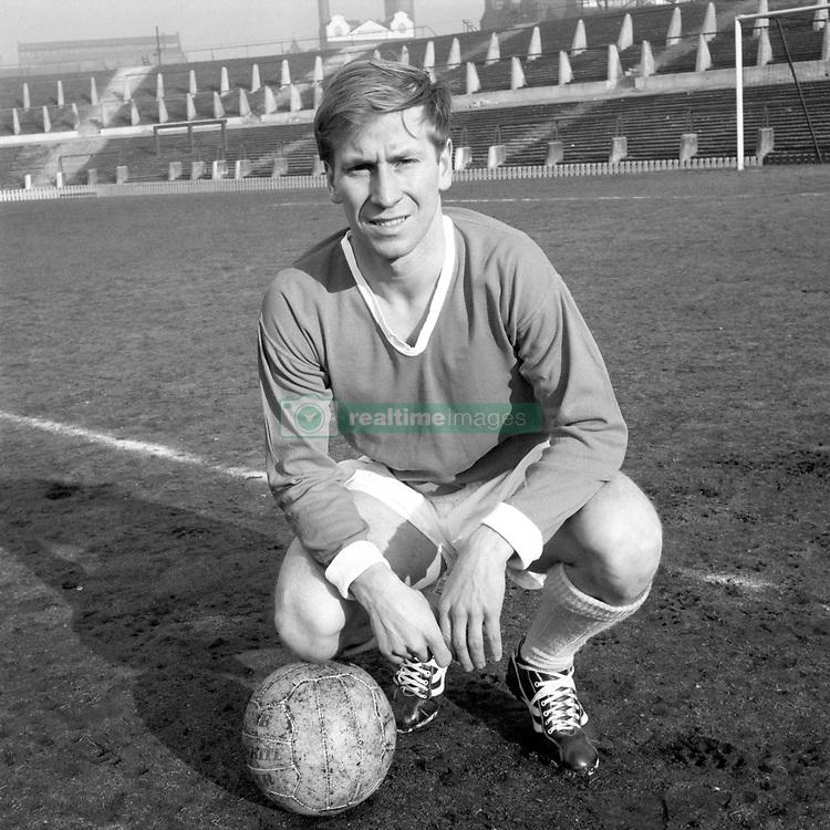 Manchester United player Bobby Charlton.