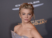 NATALIE DORMER at the premiere of 'The Hunger Games: Mockingjay - Part 2' held at the Micorsoft theatre.<br /> ©Exclusivepix Media